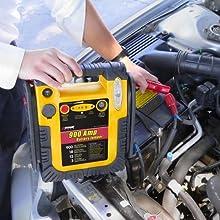 jumpstarting jump start car battery automotive rescue emergency