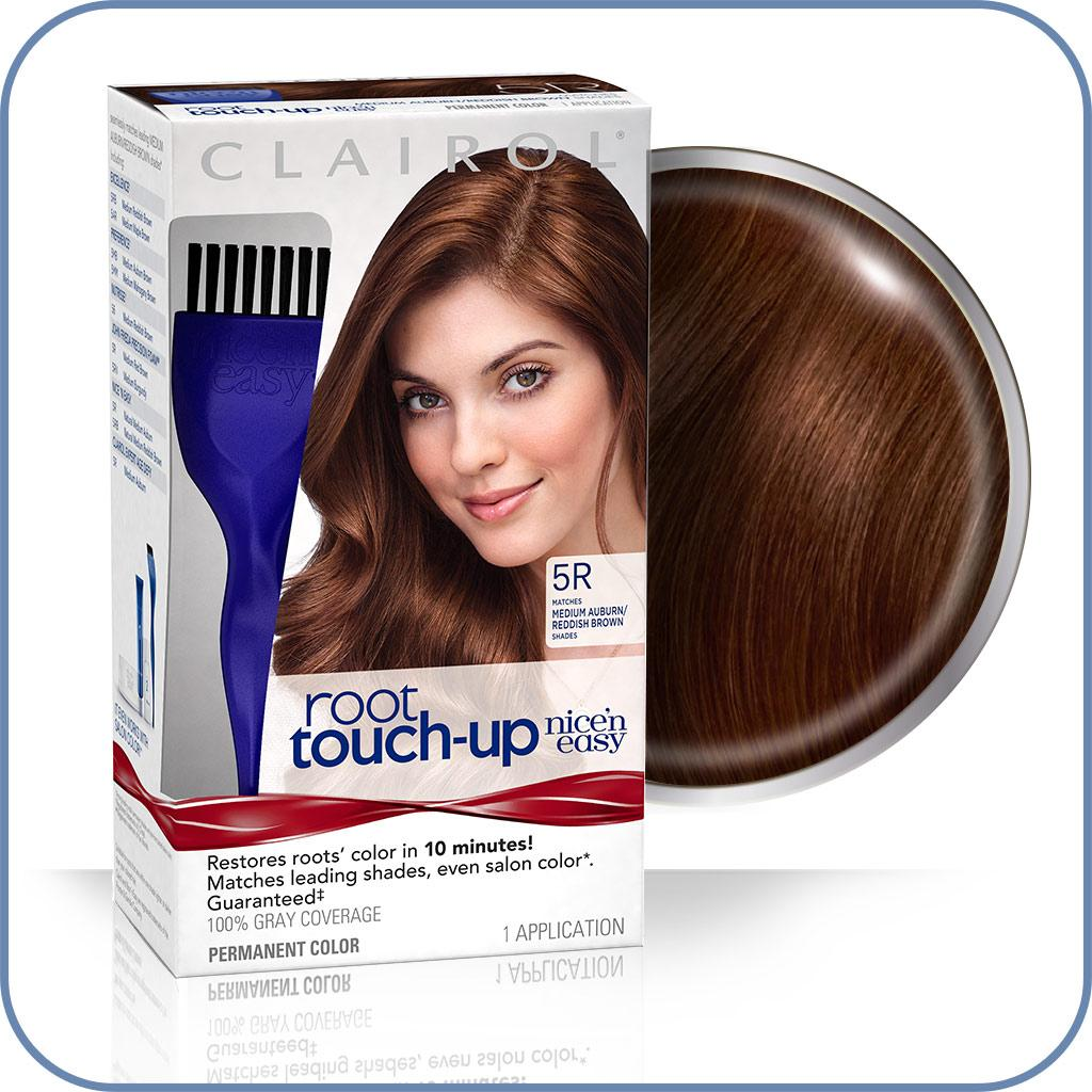 Amazon Com Clairol Nice N Easy Root Touch Up 5r Kit