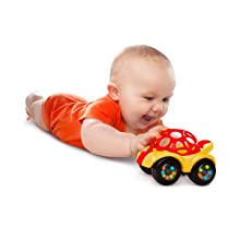 Amazon Com O Ball 1 Piece Rattle Amp Roll Car Assorted