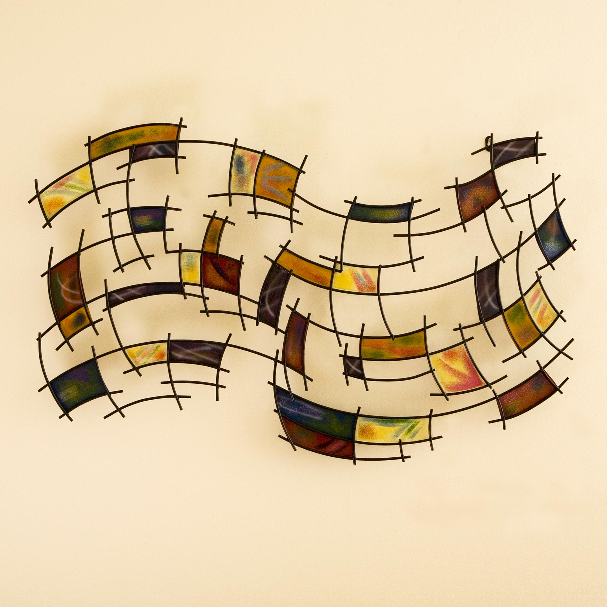 Amazon.com: SEI Southern Enterprises Abstract Wall Art Deco, Gold ...