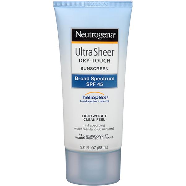 Amazon.com: Neutrogena Ultra Sheer Dry-Touch Sunscreen, Broad Spectrum
