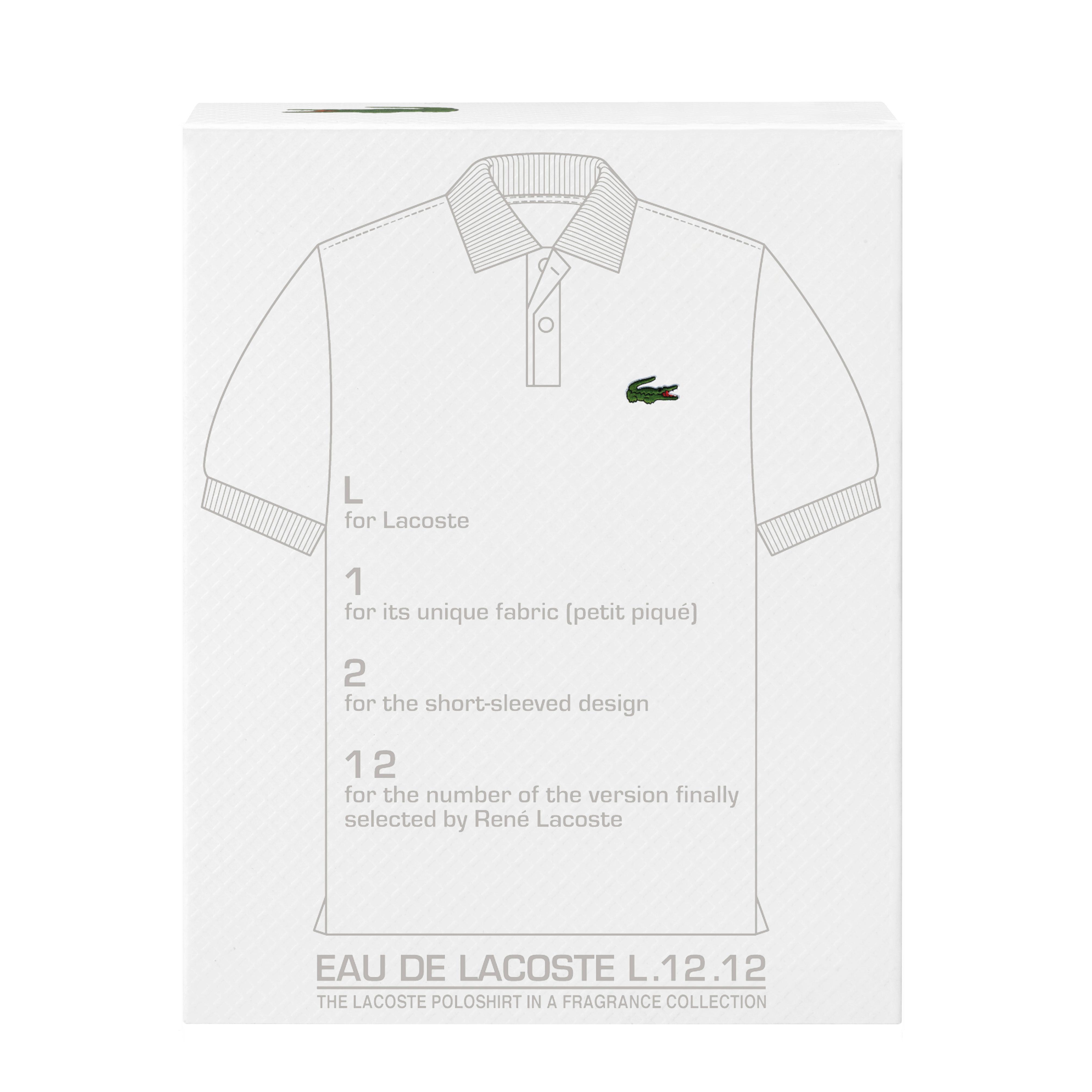 Amazon.com: Lacoste Eau de Lacoste L.12.12 Blanc Eau de
