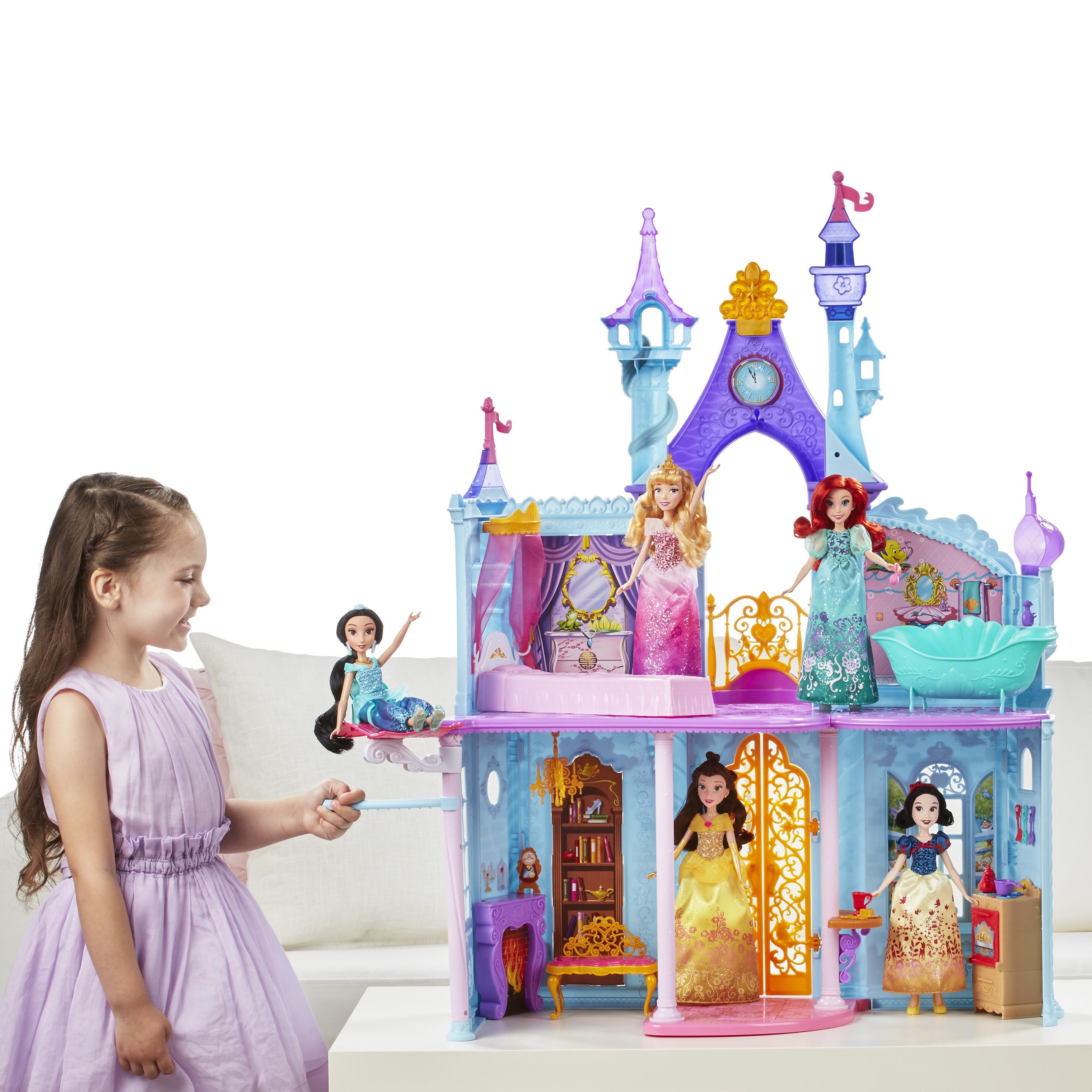 Amazon.com: Disney Princess Royal Dreams Castle: Toys & Games