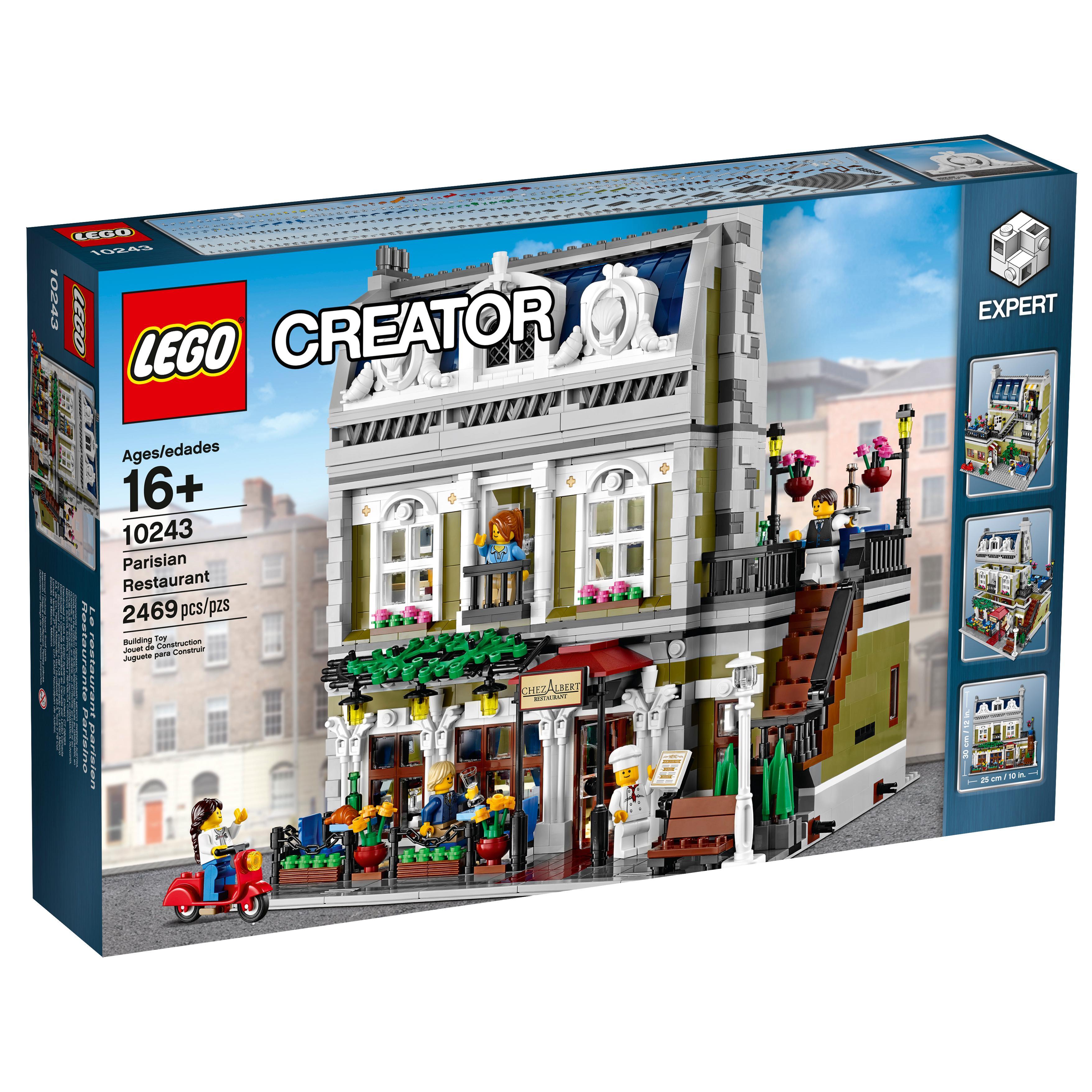 lego creator expert 10243 parisian restaurant toys games. Black Bedroom Furniture Sets. Home Design Ideas