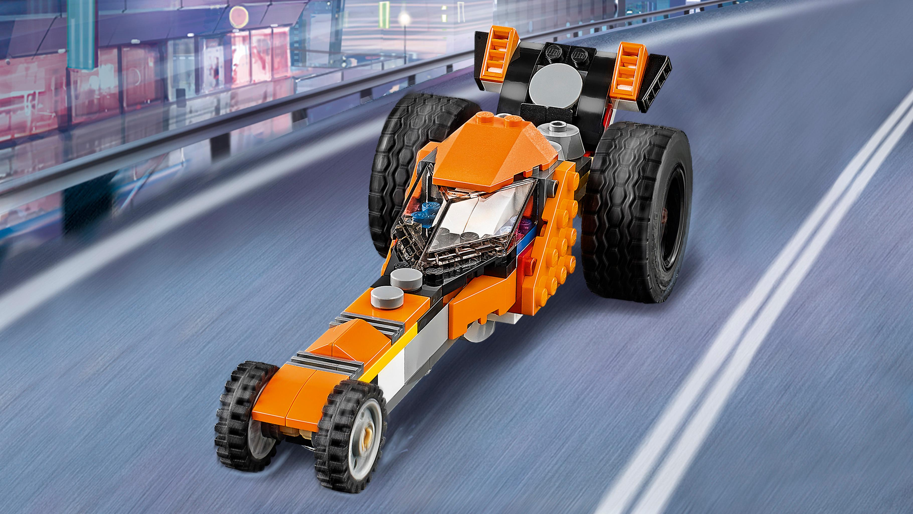 amazoncom lego creator sunset street bike  building toy toys games