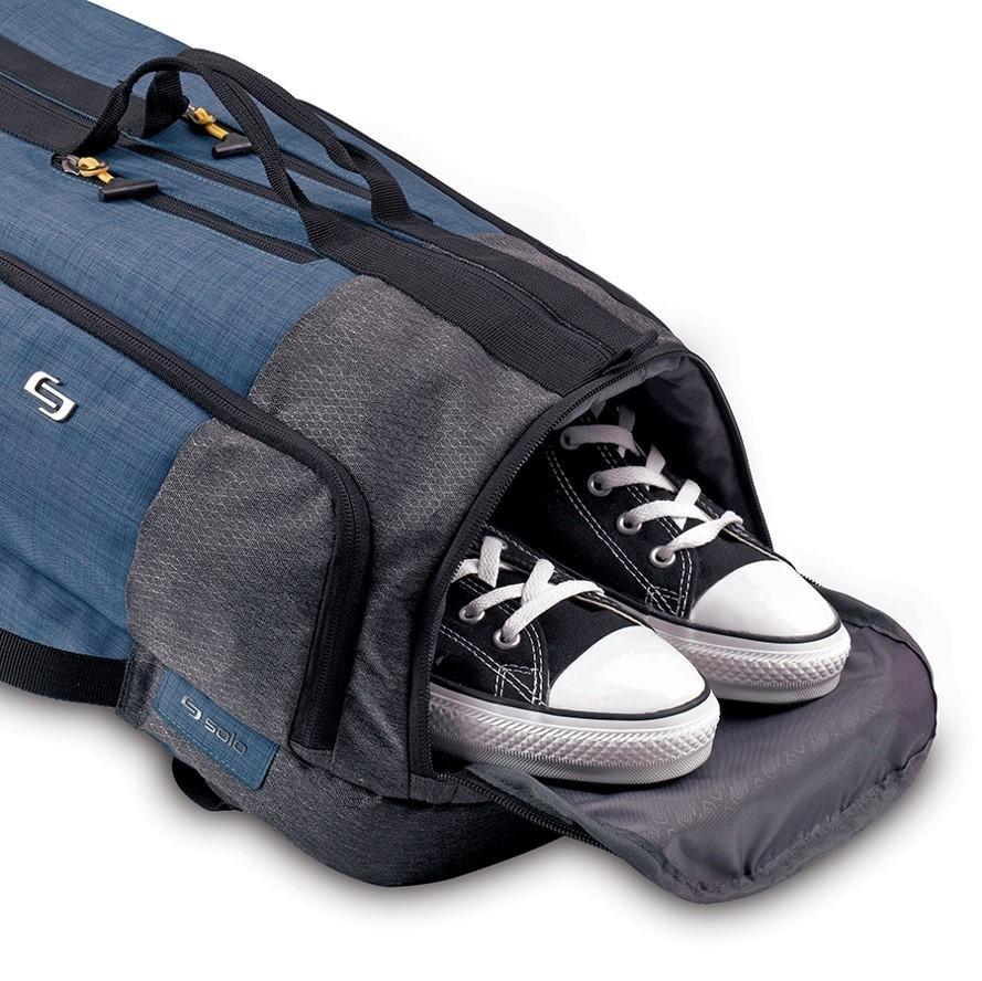 "Amazon.com | Solo Velocity 15.6"" Laptop Backpack Duffel, Blue/Grey"