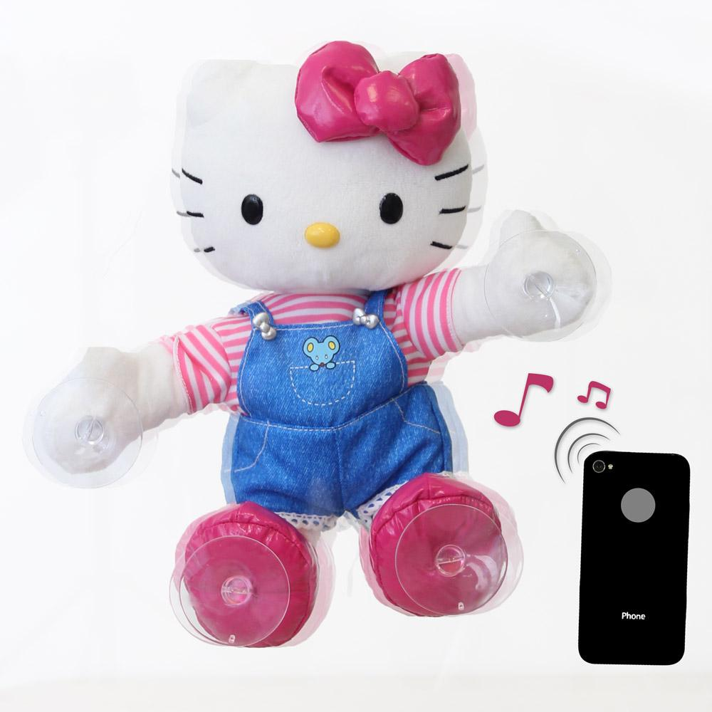 Uncategorized Dancing Hello Kitty amazon com hello kitty dance time plush toys games moves to sounds view larger