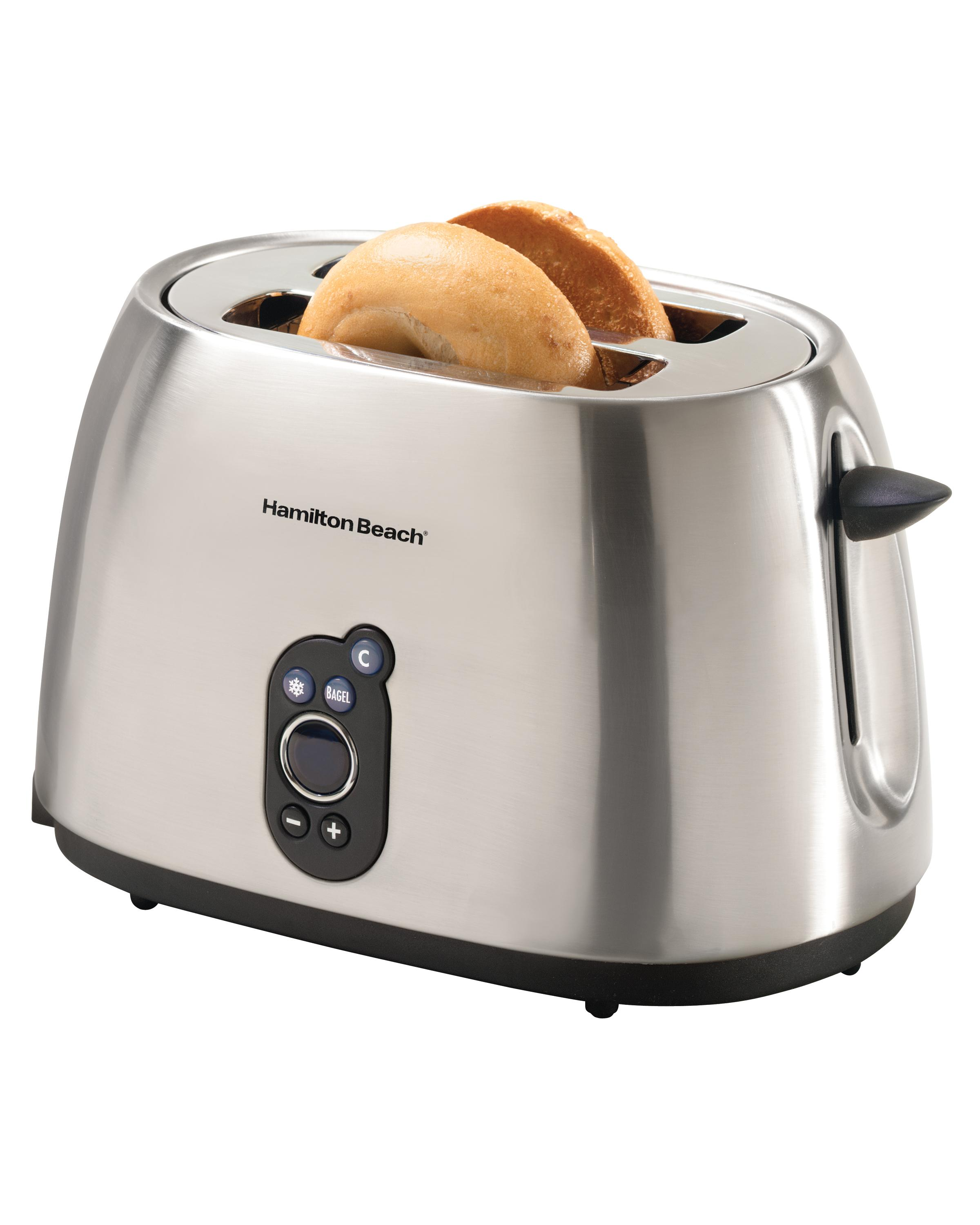 Amazon.com: Hamilton Beach 22502 Digital 2-Slice Toaster ...