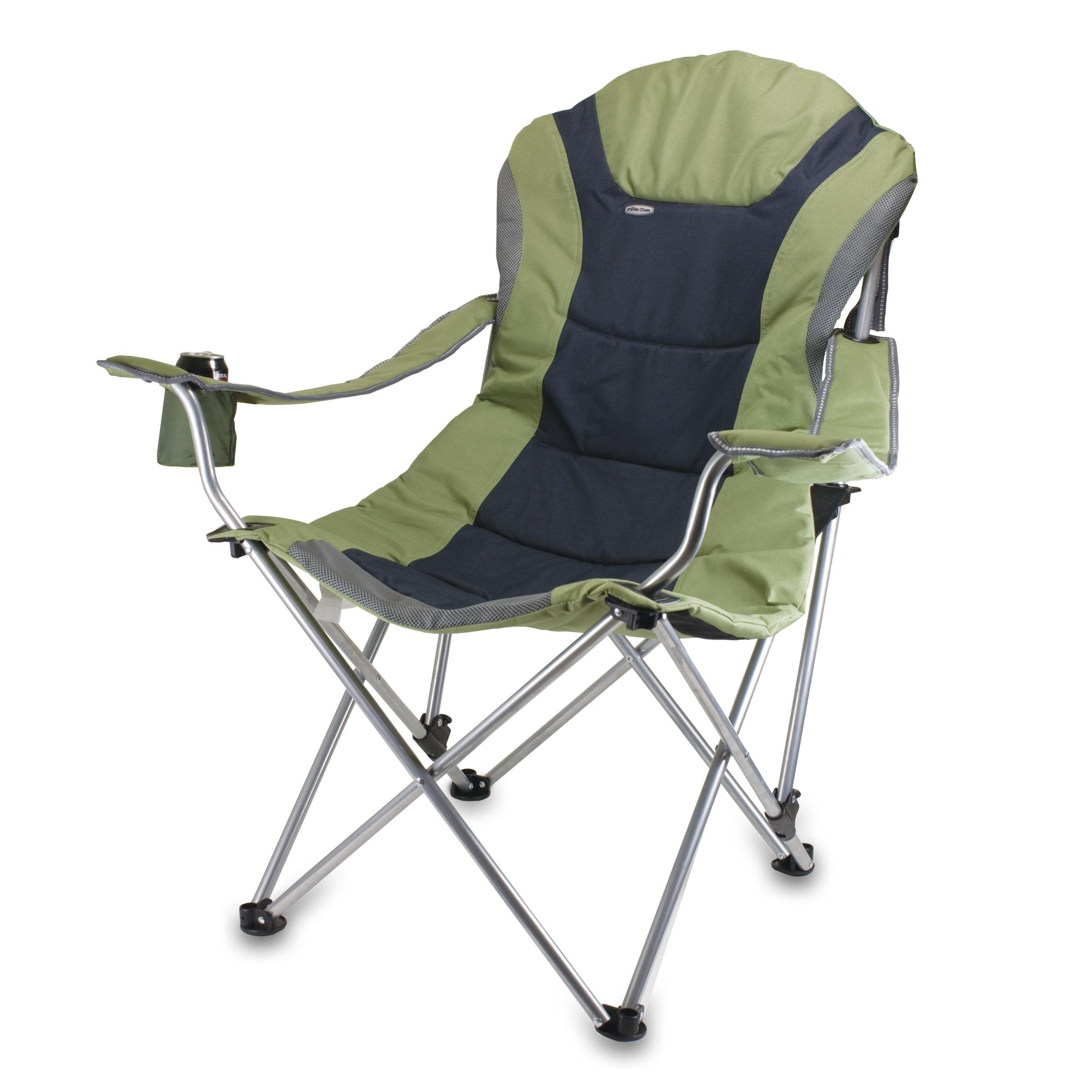 Amazon Picnic Time Portable Reclining Camp Chair Sage Gray