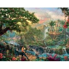 New Thomas Kinkade Disney Dreams Collection The Jungle Book Puzzle ...