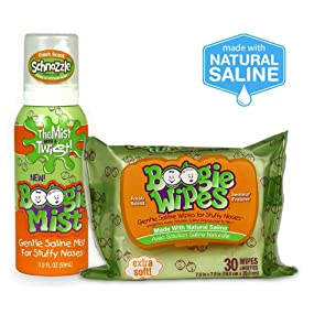 Boogie Wipes mucus boogers saline drops cold flu allergies baby wipes nose wipes toddler infant