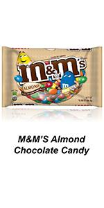 Grab a bag of M&M'S Almond Chocolate Candy and share the fun with friends.