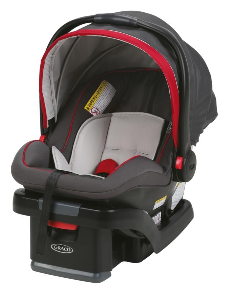 graco snugride snuglock 35 infant car seat with adjustable base chili red baby. Black Bedroom Furniture Sets. Home Design Ideas