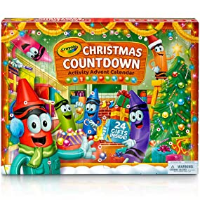 Crayola Christmas Countdown Activity Advent Calendar - Hero Image