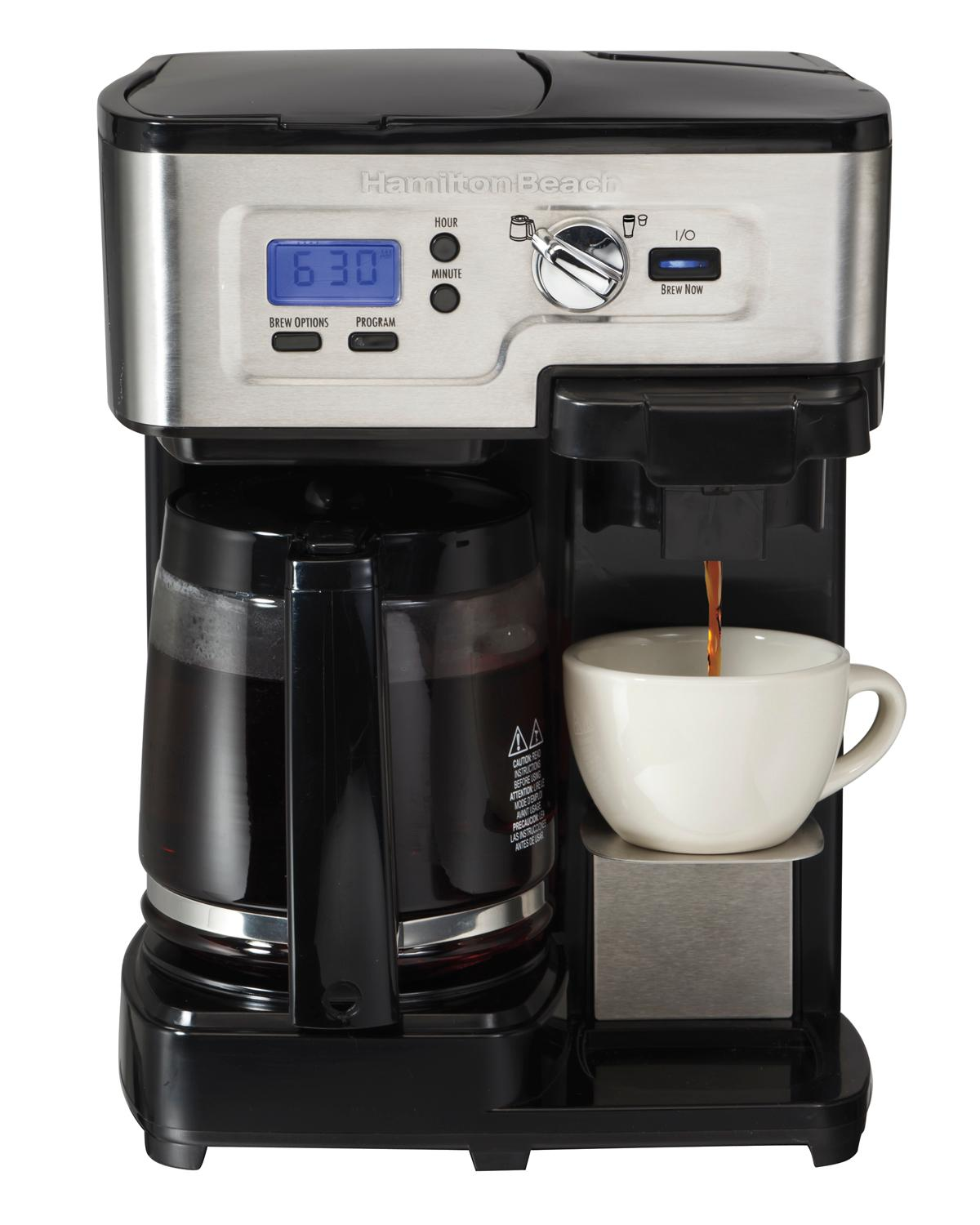 how to use a coffee pot machine