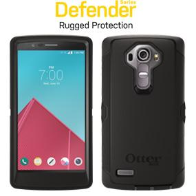 size 40 cba2b 70845 OtterBox Defender Case for LG G4 - Retail Packaging - Black