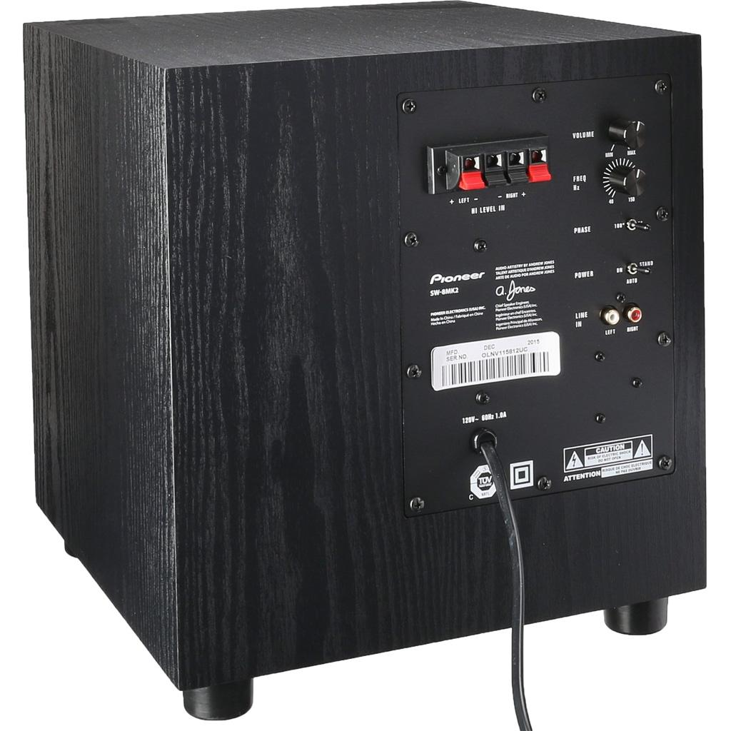Amazon.com: Pioneer SW-8MKS 100W powered subwoofer for