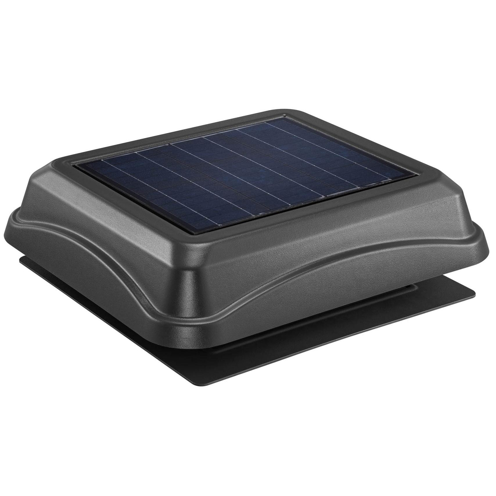 Broan 345soww Surface Mount Solar Powered Attic Ventilator