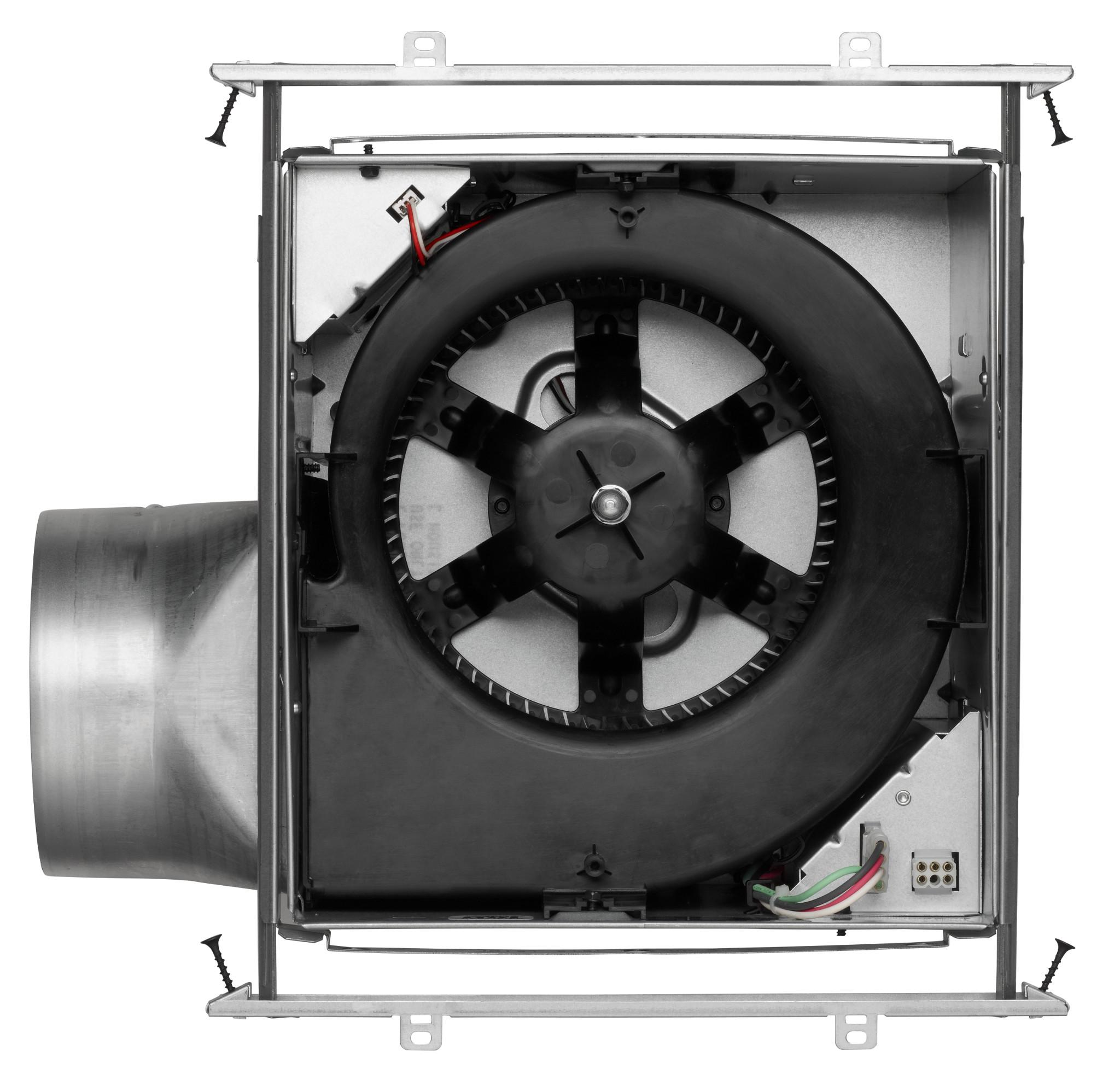 Broan Xb110l Ultra X1 Single Speed Series Ventilation Fan With 36 Electrical Circuit Have One Switchone Way 5a 210v Green Interior View