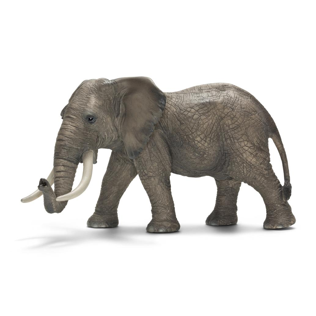 schleich african male elephant toy figure toys games. Black Bedroom Furniture Sets. Home Design Ideas
