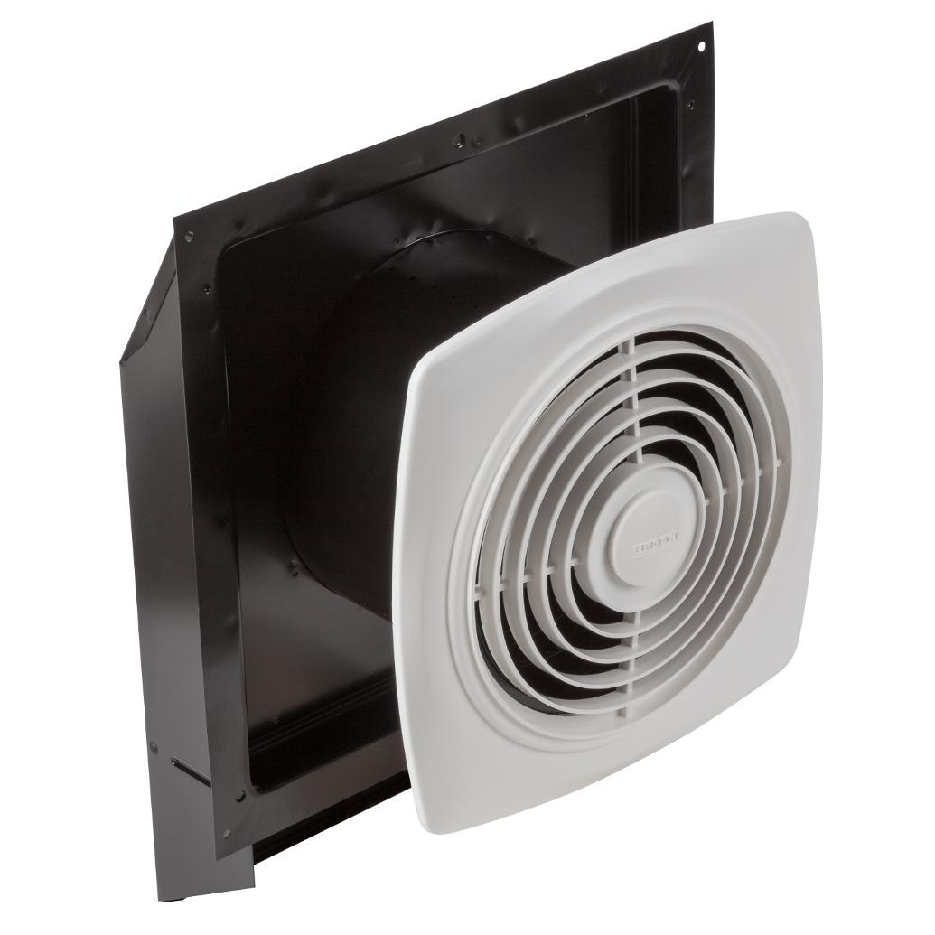 Through Wall Ventilation Fan : Broan s through wall fan with integral rotary switch