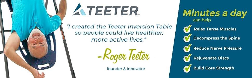 teeter inversion table