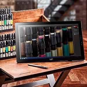 MP 22-inch 1080P Pen Display Tablet, Black