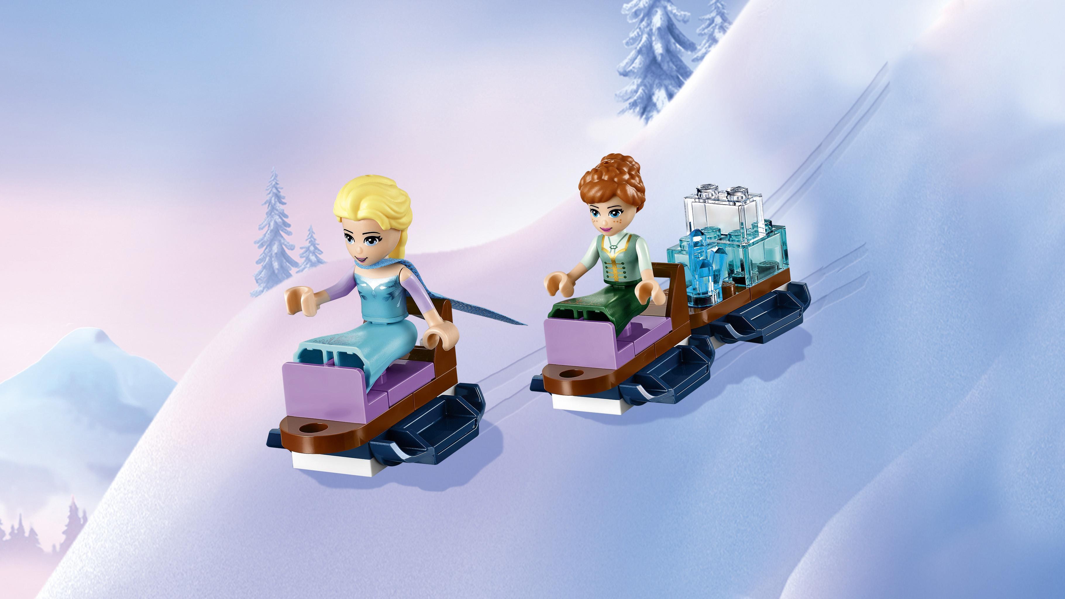Amazon Com Lego L Disney Frozen Elsa S Magical Ice Palace