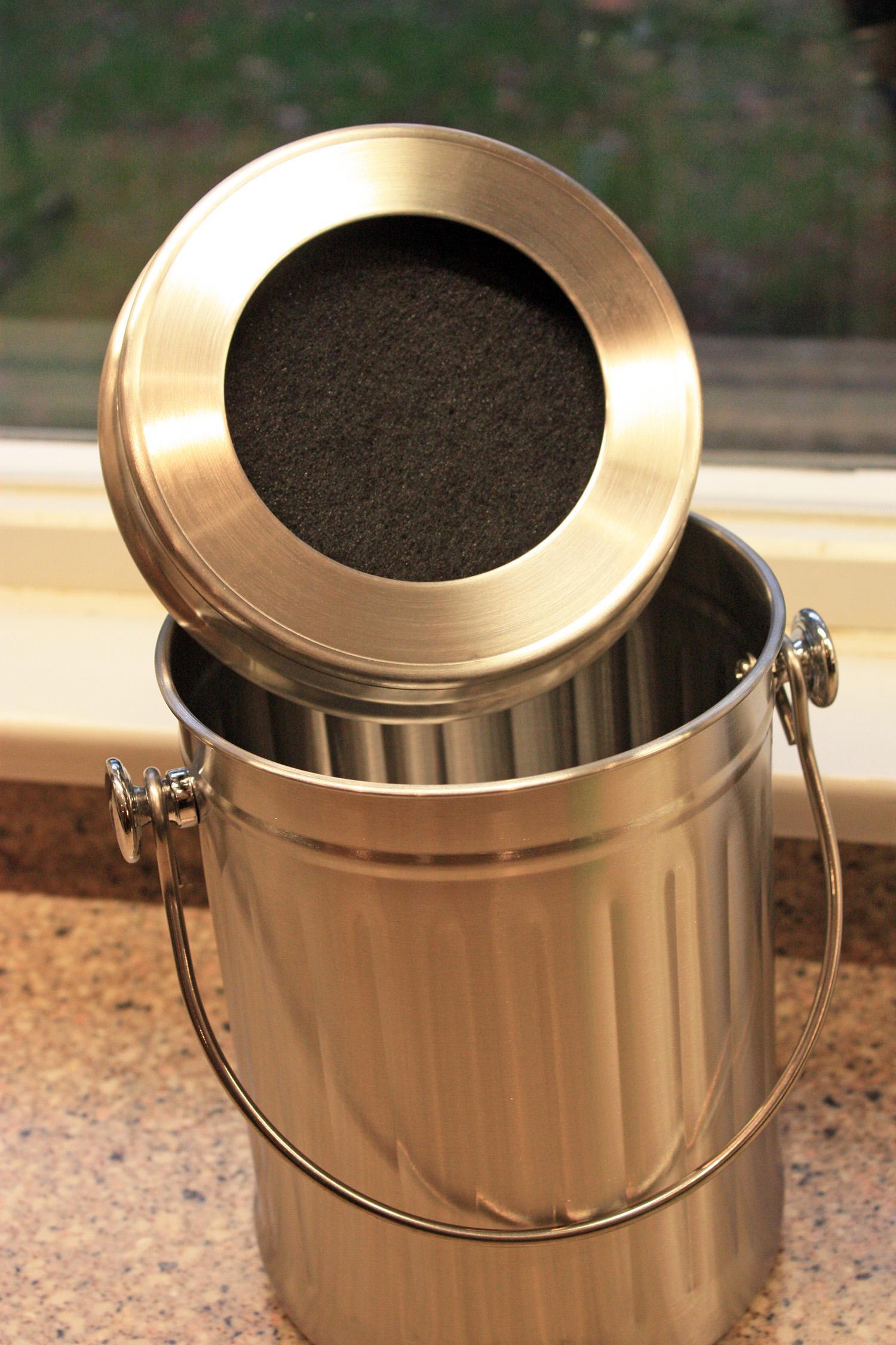 Kitchen Accents SS Composter KASS3Q Abfall & Recycling Aufbewahren & Ordnen