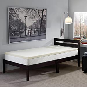 Amazon Com Sleep Innovations 2 Inch Memory Foam Mattress