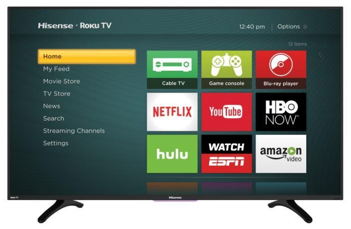 hisense 40h4c1 40 inch 1080p roku smart led tv ebay. Black Bedroom Furniture Sets. Home Design Ideas