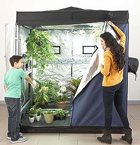 Eco garden house complete indoor grow room 6 for Eco indoor garden house