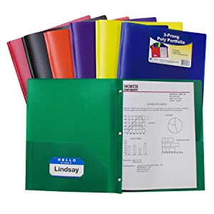 Heavyweight Polypropylene Folders Poly Ports