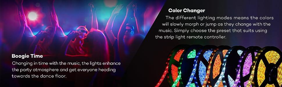 Amazon.com: Music Led Strip Lights, TaoTronics Christmas Rope ...