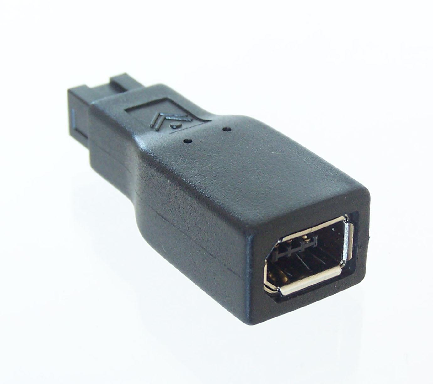 de 6 a 9-pin Adaptador FireWire 800