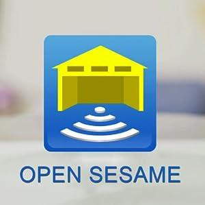 open sesame garage door opener