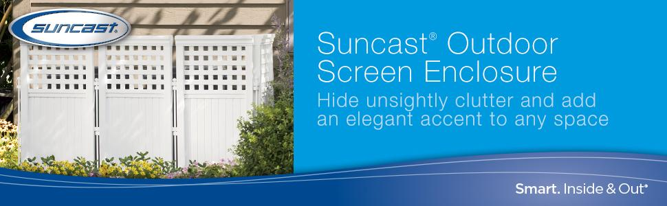 Amazon.com : Suncast FS4423 Outdoor Screen Enclosure : Outdoor