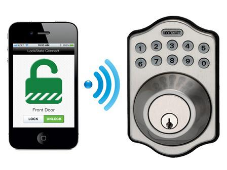LS-5i Deadbolt Lock (WiFi-Enabled) (Satin Nickel): Home Improvement
