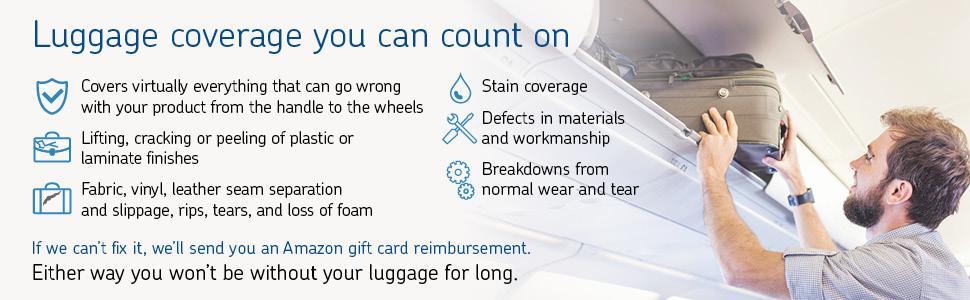 $125 - $149.99 Asurion 2 Year Luggage//Handbag  Protection Plan