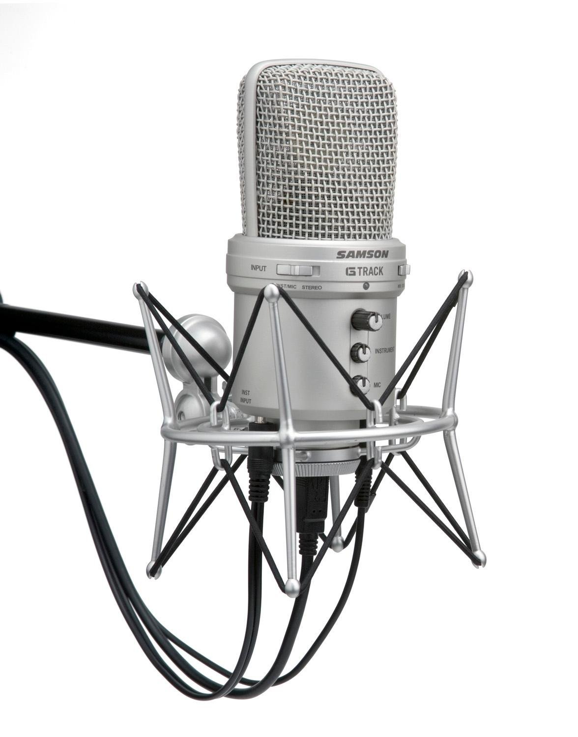 Amazon Com Samson G Track Usb Condenser Microphone With