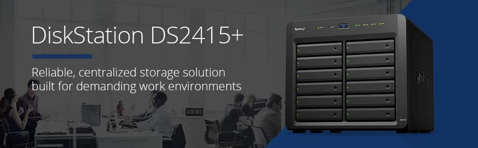 Synology, DiskStation, DS2415+, NAS, network-attached storage, data storage, private cloud