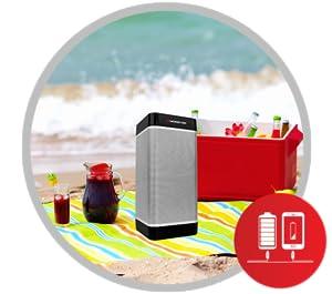 portable, battery, outdoor