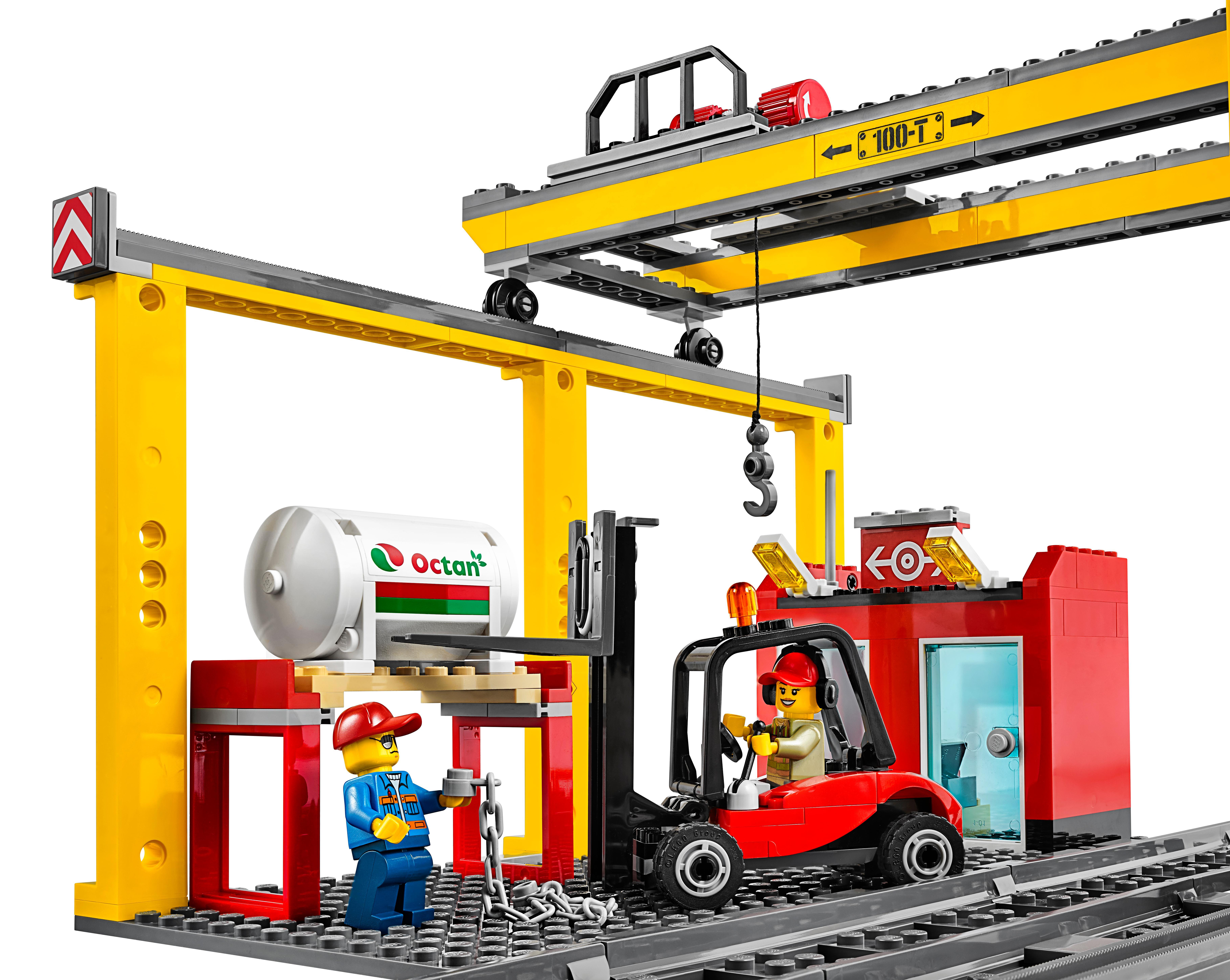amazon com  lego city cargo train 60052 train toy  toys  u0026 games