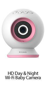 HD-Wi-Fi Baby Camera