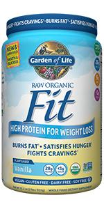 Garden Of Life Organic Meal Replacement Raw Organic Fit Vegan Nutritional Shake