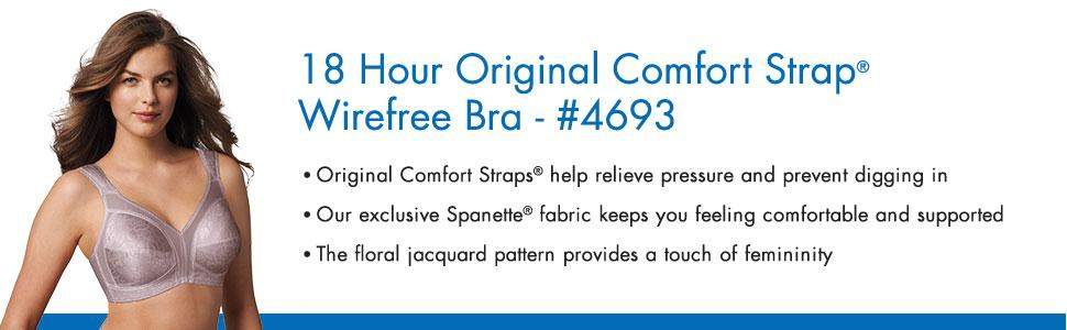 fcce7b21a6115 Playtex Women s 18 Hour Original Comfort Strap Full Coverage Bra ...