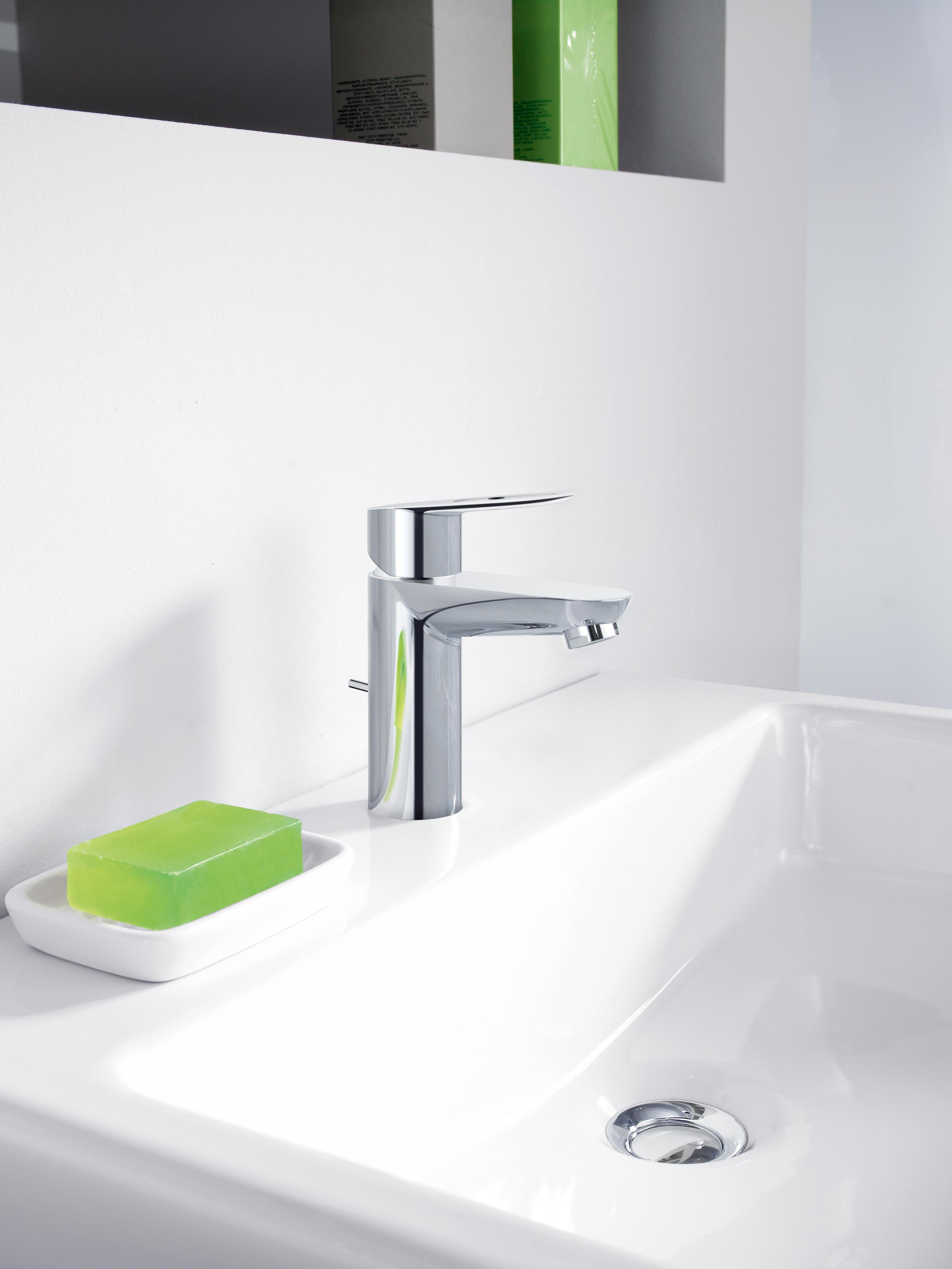 Grohe 20333000 Bauloop Single Handle Bathroom Faucet With