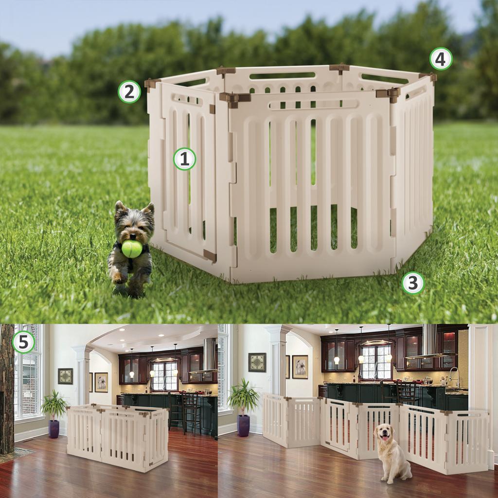 Amazon Richell Convertible Indoor Outdoor Pet