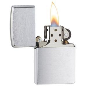 brushed chrome, chrome lighter, 200