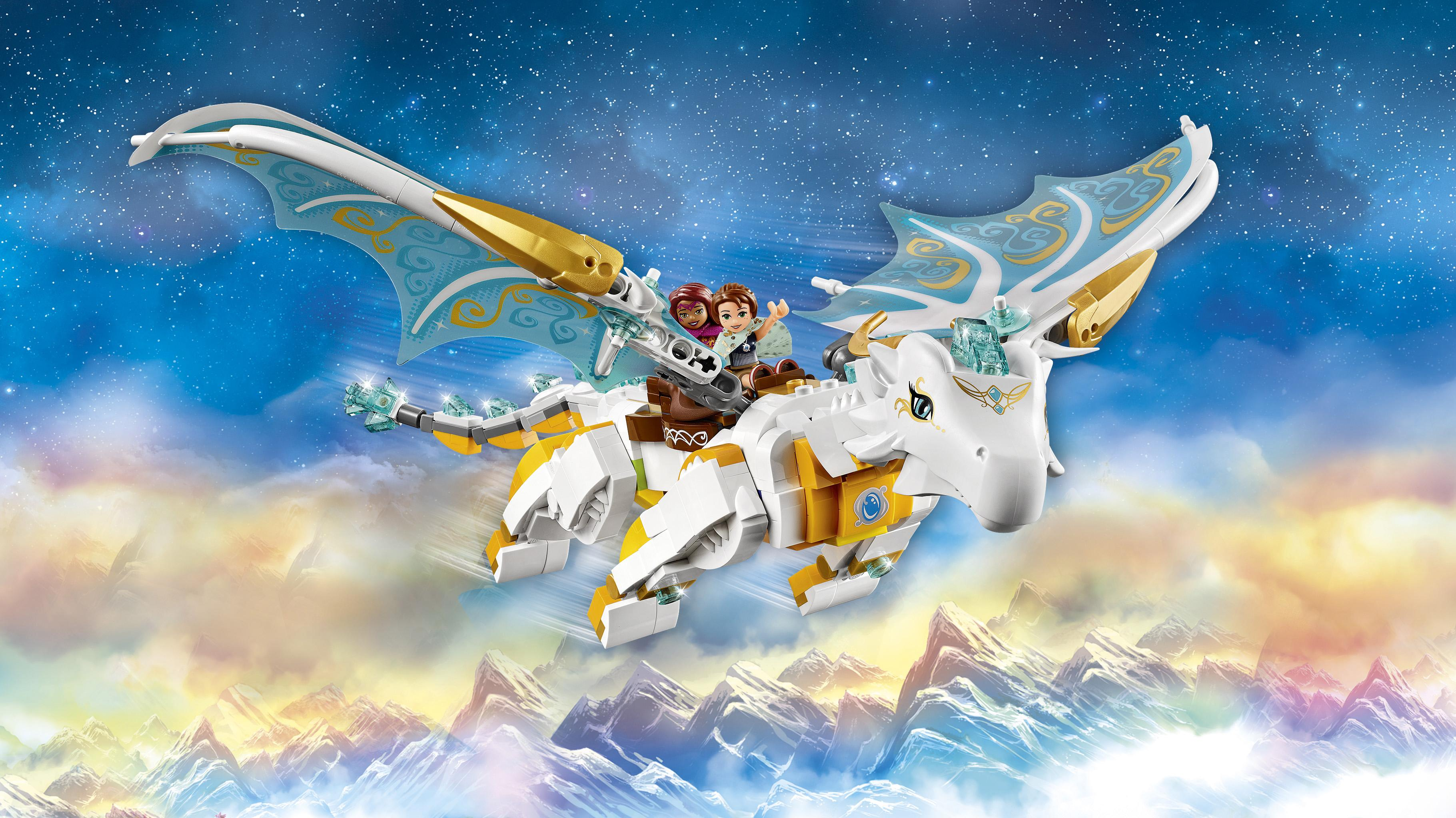 Amazon Com Lego Elves Queen Dragon S Rescue 41179